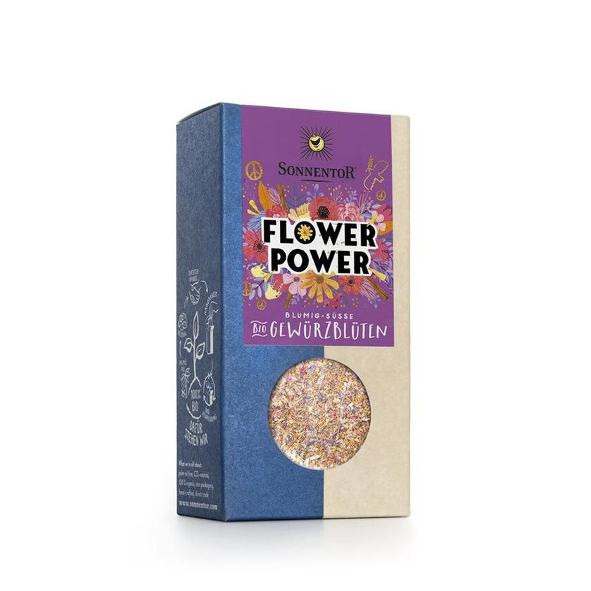 Sonnentor Bio Flower Power Gewürz-Blüten Tüte 35g