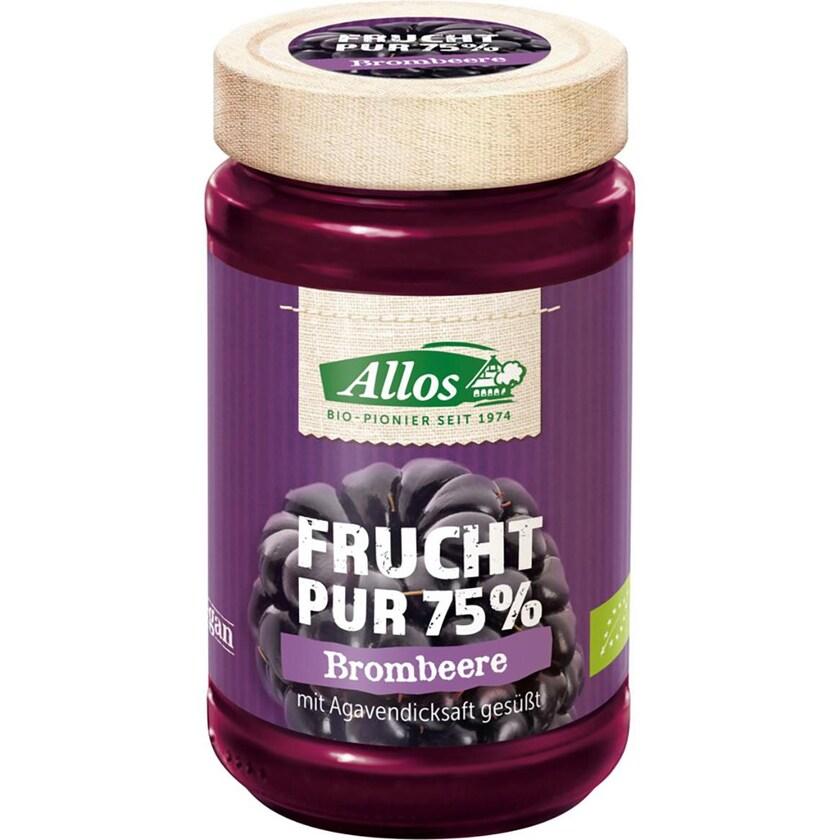 Allos Frucht-Pur Brombeere bio 250g