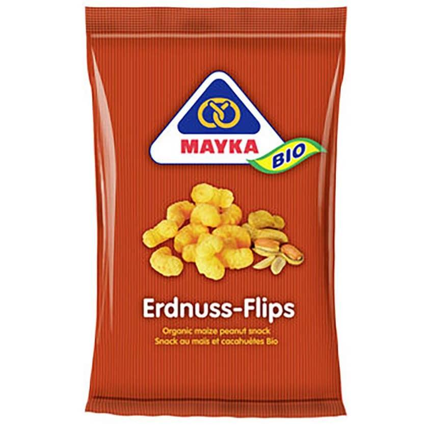 Mayka Bio Erdnuss Flips 75g
