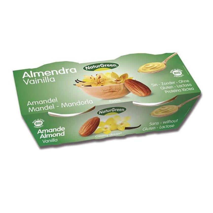 NaturGreen Mandel Vanille Dessert 2x 125g Bio