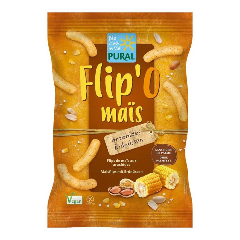Pural Flip' O maïs Erdnuss 100g Bio