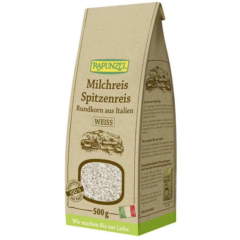 Rapunzel Bio Milchreis Spitzenreis Rundkorn Weiß 500g