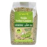 Rapunzel Bio Troja Teller-Linsen (grün bis braun) 500g