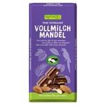 Rapunzel Vollmilch Schokolade mit ganzen Mandeln, 200g HIH 200g