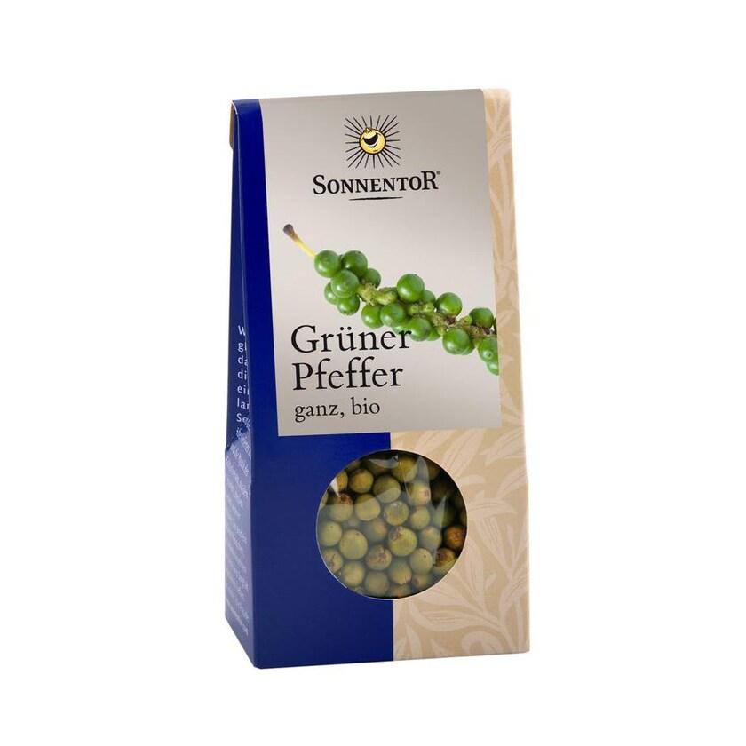 Sonnentor Pfeffer grün ganz 12g