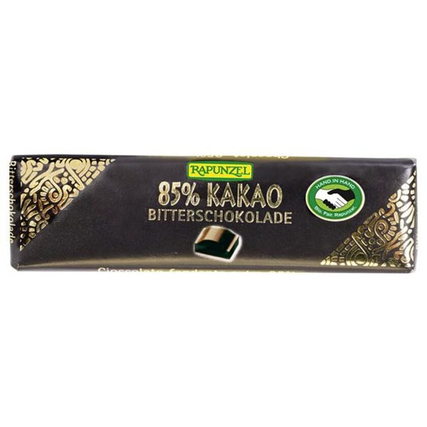 Rapunzel Bio Bitterschokolade Täfelchen 85% Kakao 20g