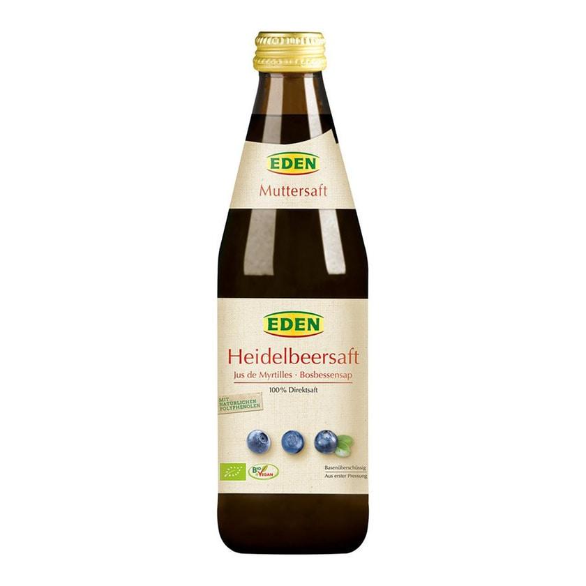 Eden Heidelbeersaft Muttersaft bio 330ml