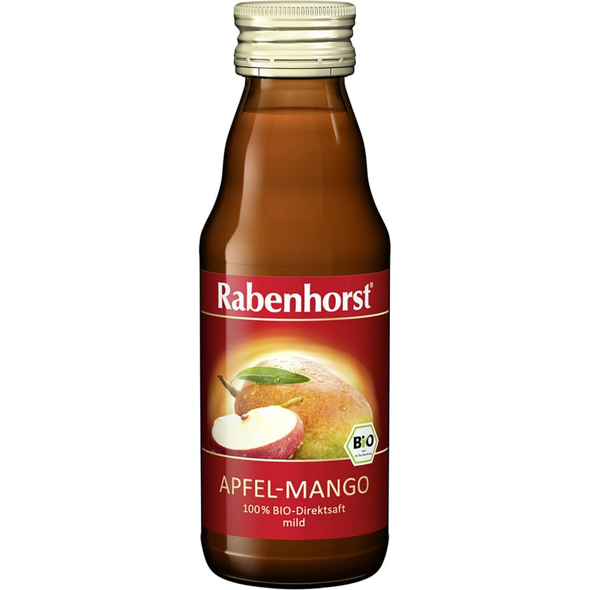 Rabenhorst Bio Apfel-Mango Mini Direktsaft 125ml