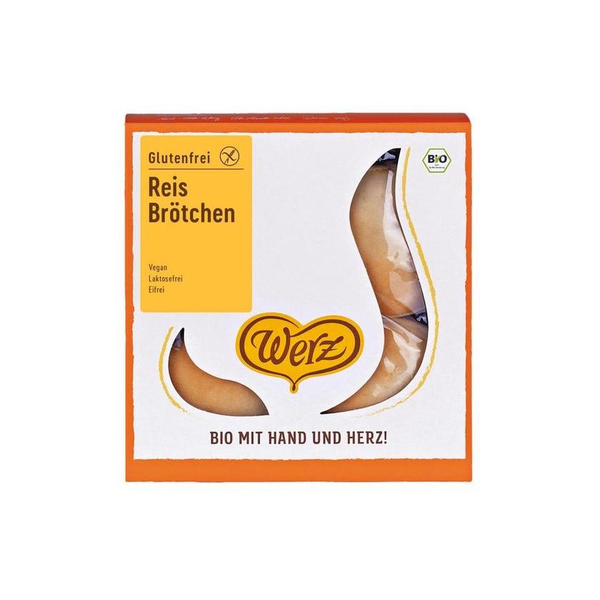 Werz Bio Reis-Brötchen 250g