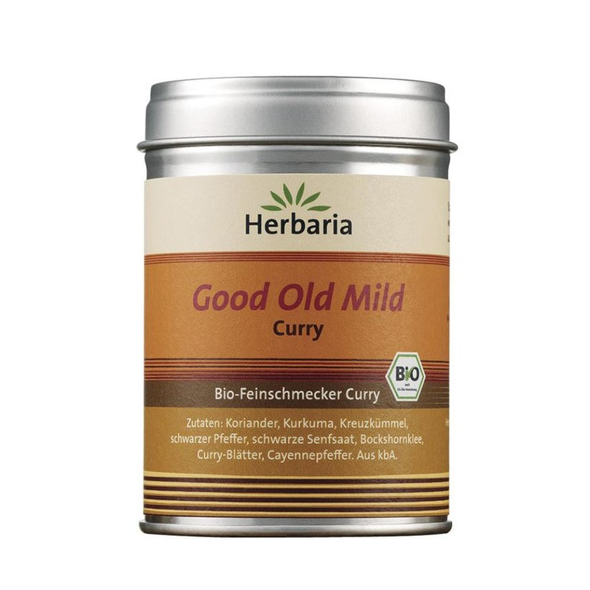 Herbaria Good Old Mild Curry 80g