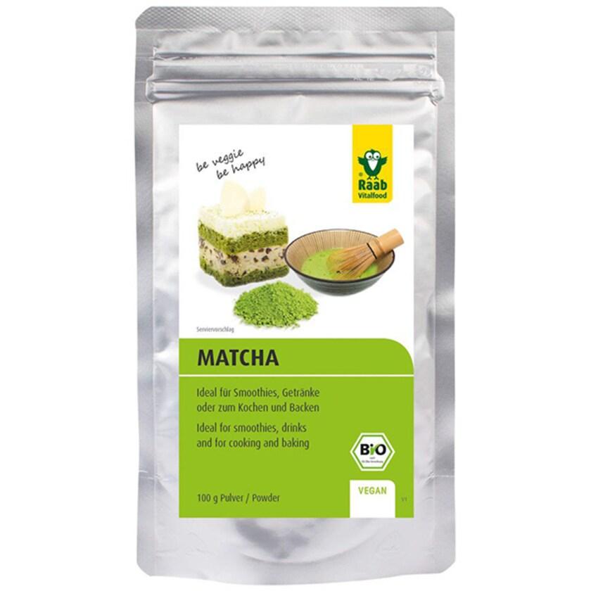Raab Vitalfood Bio Matcha Basic 100g