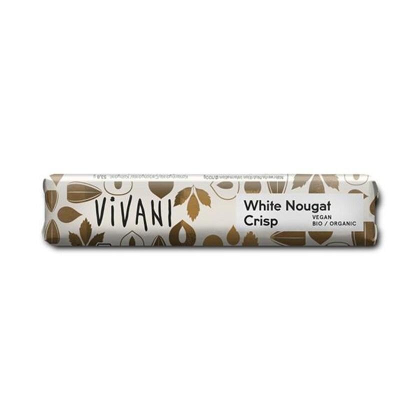 Vivani White Nougat Crisp 35g