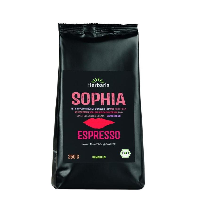 Herbaria Espresso Sophia gemahlen 250g