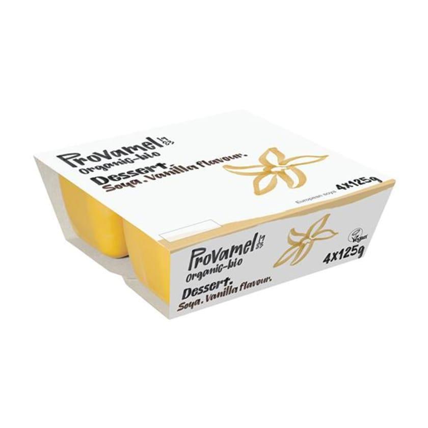 Provamel Soja Dessert Vanille 4x 125g