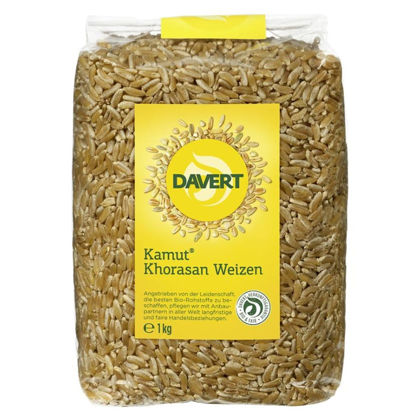 Davert Kamut Khorasan Weizen 500g Bio