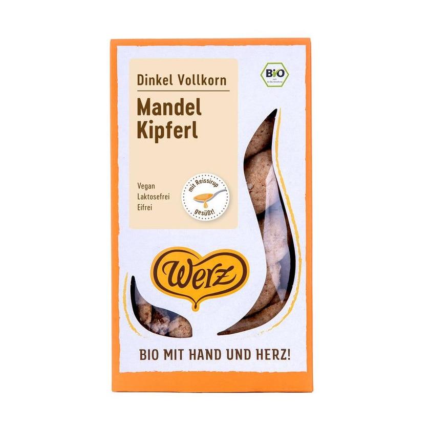 Werz Bio Dinkel-Mandel-Kipferl 125g