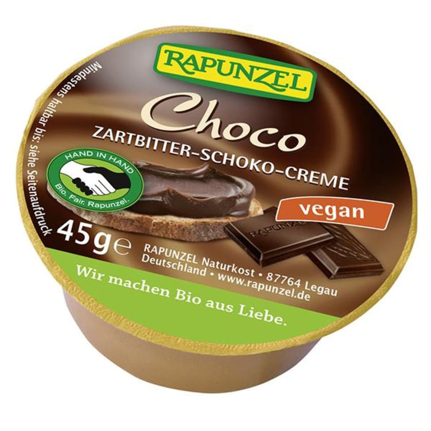 Rapunzel Choco, Zartbitter Schokoaufstrich HIH 45g