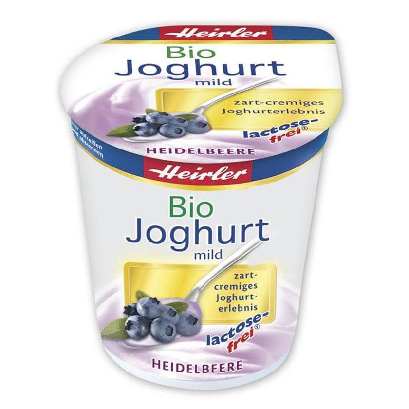 Heirler Joghurt mild, Heidelbeer, bio lactosefrei 150g