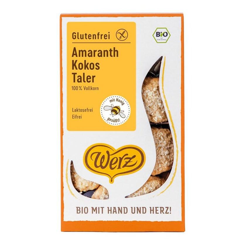 Werz 4-Korn-Amaranth-Kokos-Taler 125g