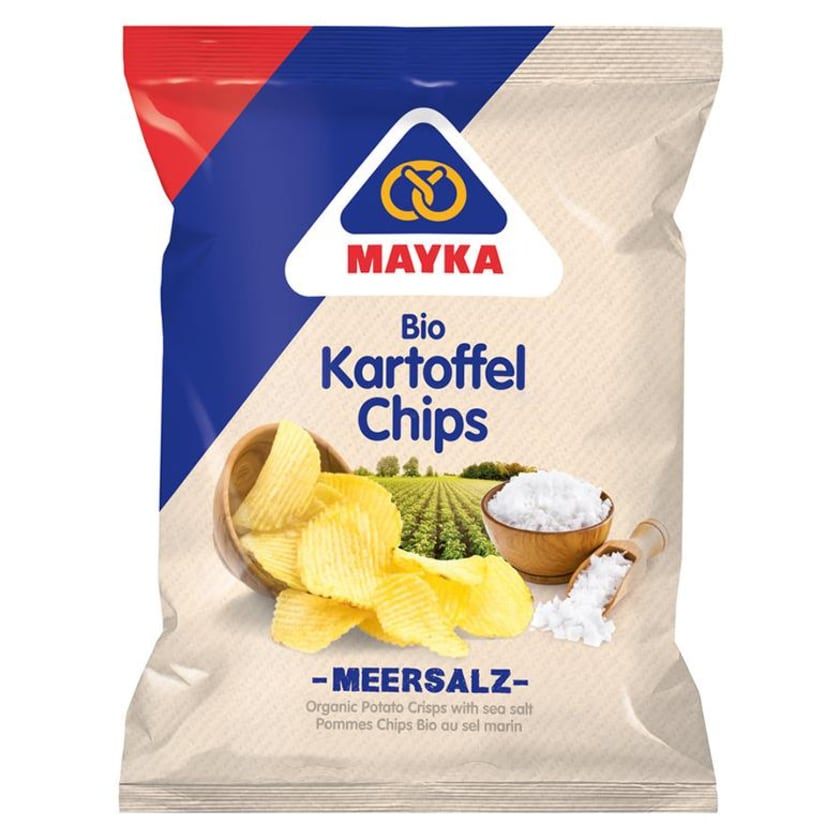 Mayka Kartoffel-Chips Natur mit Meers 70 g Bio 70g