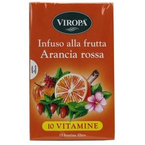 Viropa Früchtetee Blutorange Arancia Rossa 45g