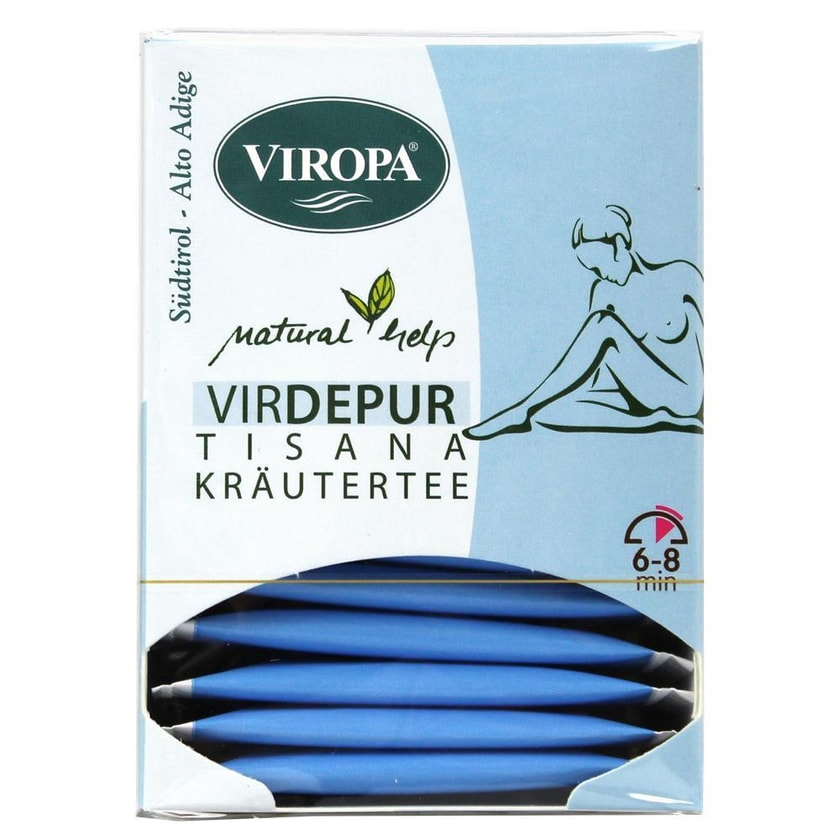 Viropa VirDEPUR Kräutertee 22,5g