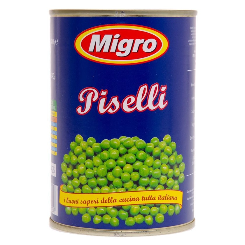 Migro Piselli Erbsen 240g
