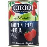 Cirio Datterini Pelati di Puglia Tomaten 400g