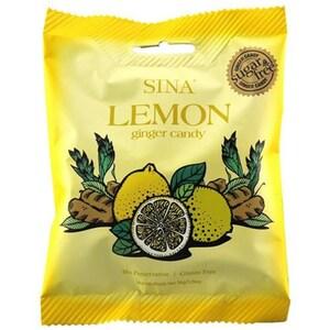 Sina Lemon Ginger Candy Zuckerfreie Bonbons 36g