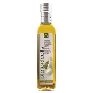 Biologicoils Condimento con Olio Ex.Ver. d'Oliva e Aglio Bio Öl 250ml