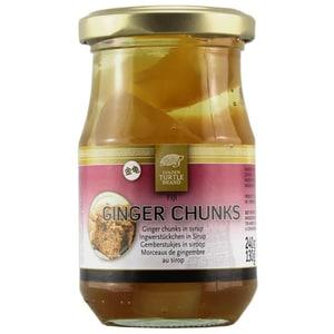 Golden Turtle Brand Ginger Chunks Ingwer Stücke 130g