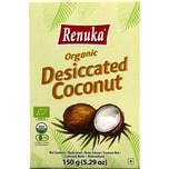 Renuka Organic Desiccated Coconut Bio Kokosraspel 150g