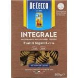 De Cecco Fusilli Giganti n°234 Integrale Vollkorn Nudeln 500g