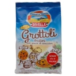 Divella Grottoli Frollini con Gocce di Cioccolato Kekse 400g