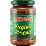 Amato Fagioli Borlotti Bohnen Glas 240g