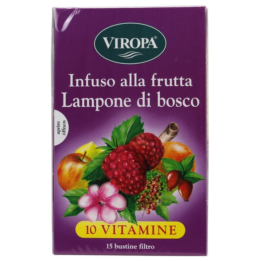 Viropa Früchtetee Waldhimbeere Lampone di Bosco 45g