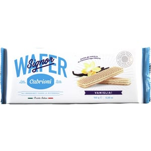 Cabrioni Signor Wafer alla Vaniglia Waffeln 150g