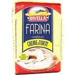 Divella Farina per Creme e Torte Mehl für Creme und Kuchen 1kg