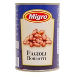 Migro Fagioli Borlotti Bohnen 240g