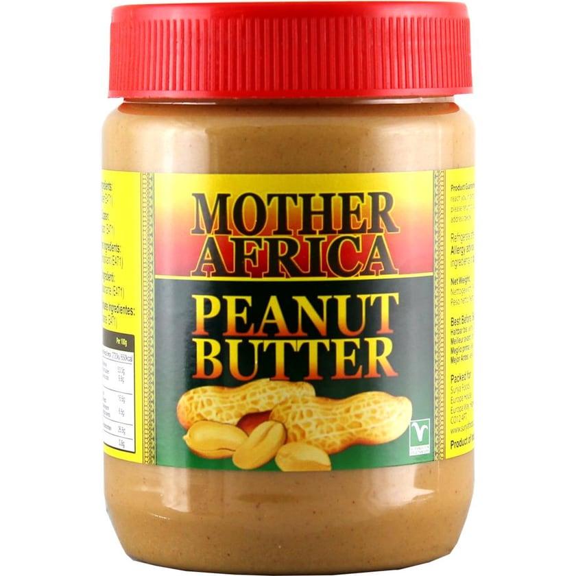 Mother Africa Peanut Erdnuss Butter 500g