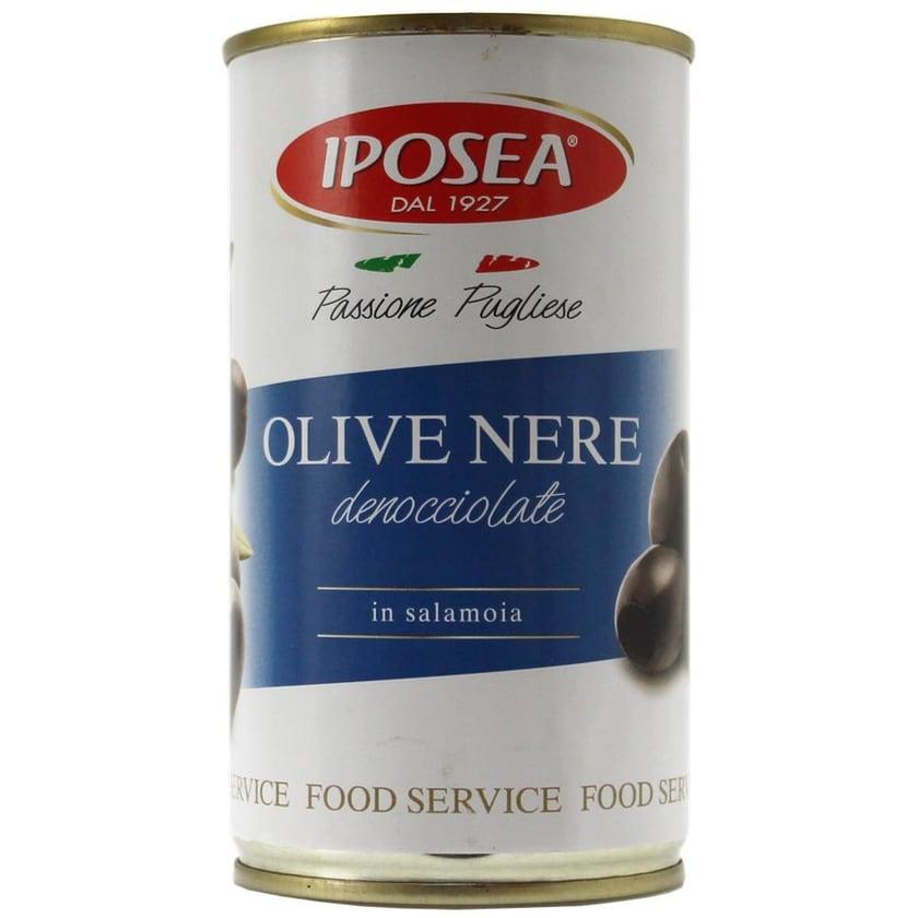 Iposea Olive Nere Denocciolate Oliven 150g