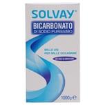 Solvay Bicarbonato di Sodio Purissimo Natron 1000g
