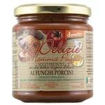 Le Delizie di Mamma Puggia Demeter Sugo Pronto ai Funghi Porcini Sauce 300g
