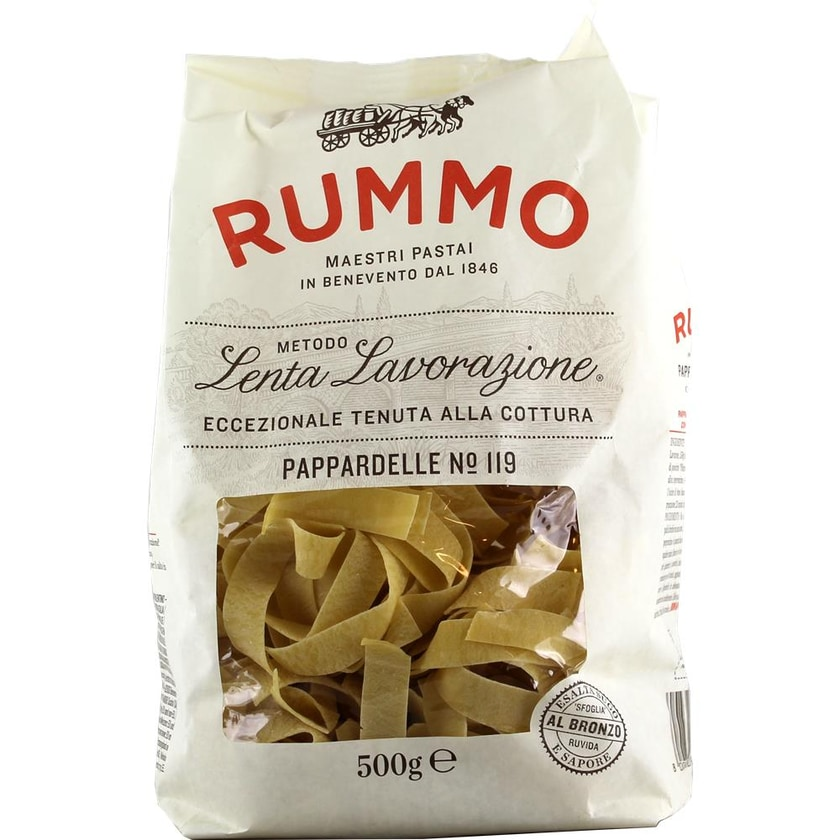 Rummo Pappardelle N°119 Bandnudeln 500g