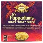 Patak's 10 Pappadums Natur Fladen 100g