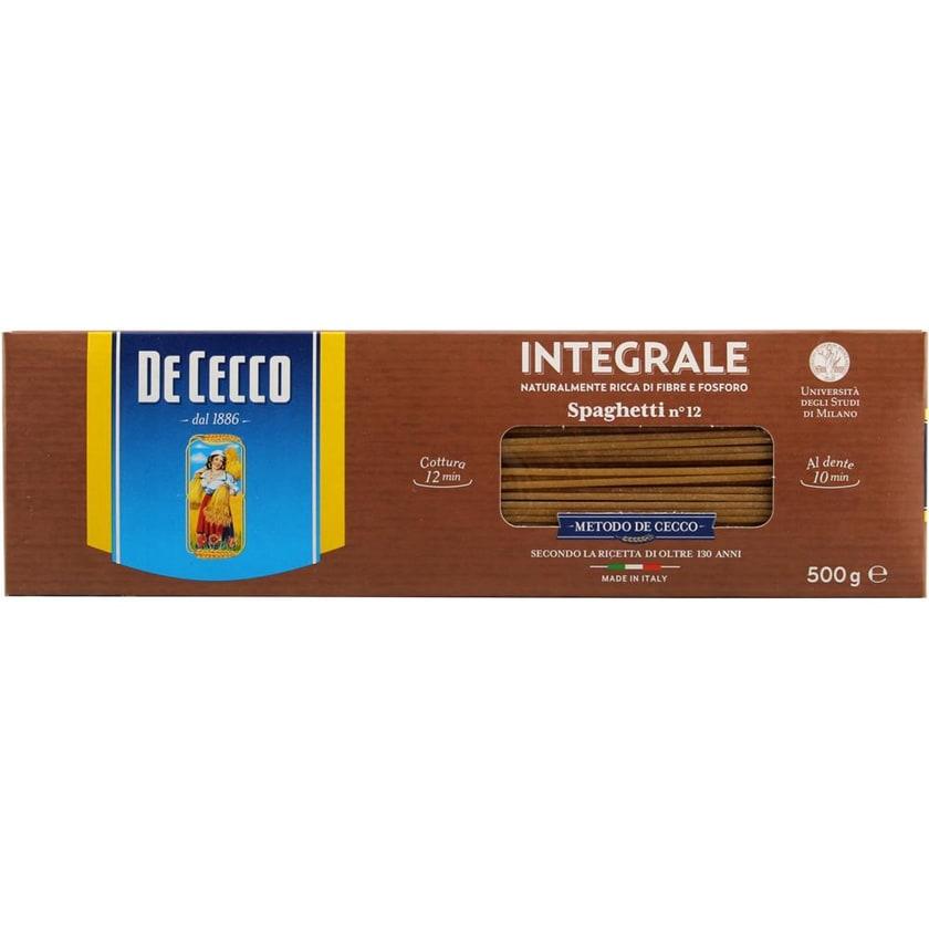 De Cecco Spaghetti Integrali n°12 Vollkorn Nudeln 500g