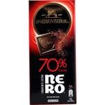 Perugina NERO Fondente Extra 70% Cacao Tafelschokolade 85g