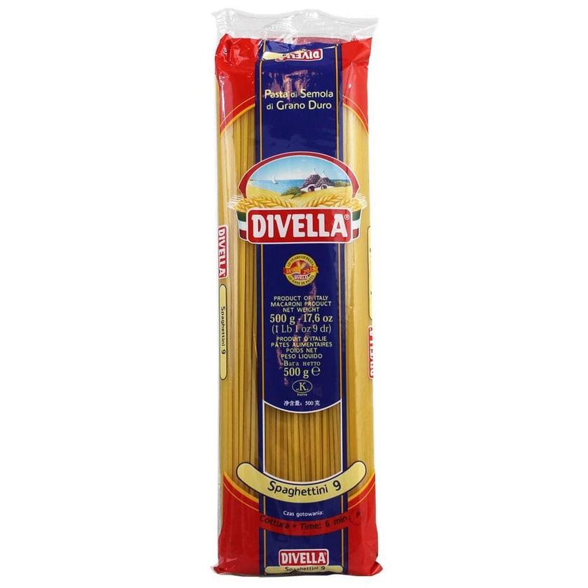 Divella Spaghettini 9 Nudeln 500g