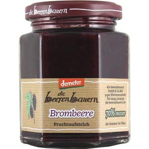 demeter die beerenbauern Bio Brombeere Fruchtaufstrich 200g