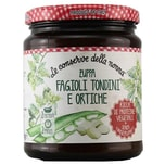 Le Conserve della Nonna Zuppa Fagioli Tondini e Ortiche Fertigsuppe 500g